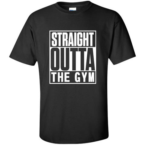 Straight Outta the Gym Cotton T-Shirt