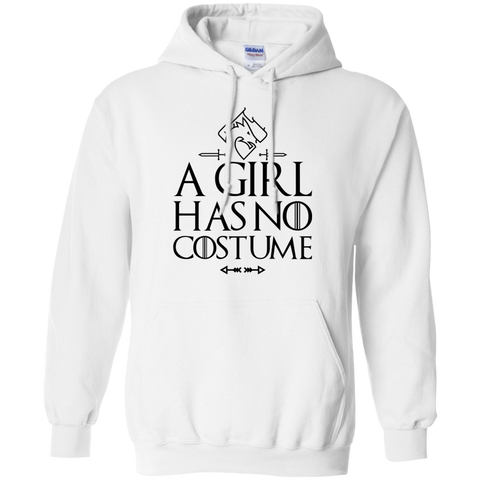 A Girl has no costume    Hoodie