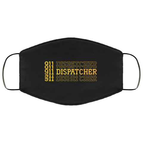 911 dispatcher  Face Mask