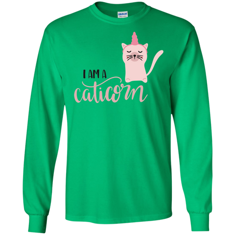 I am a Caticorn  LS Tshirt