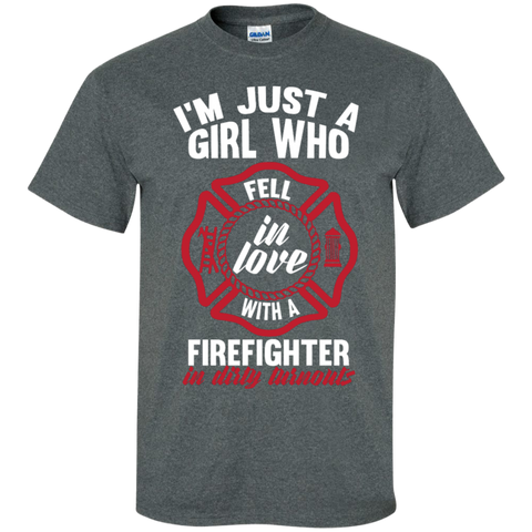 Girl Fell in love with a firefighter Special T-Shirt