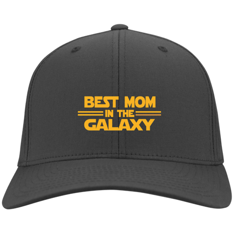 Best Mom in The Galaxy Twill Cap