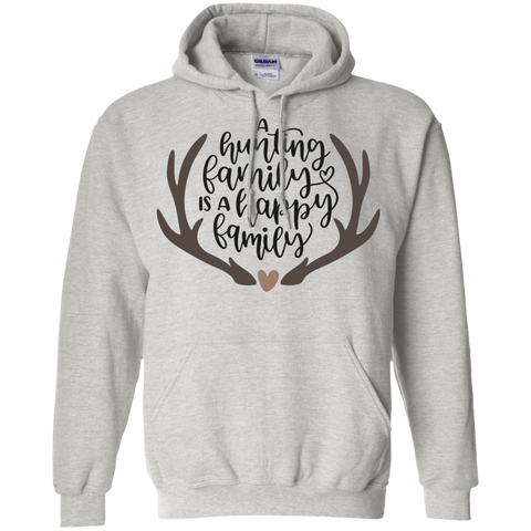 A hunting family is a happy family Hoodie