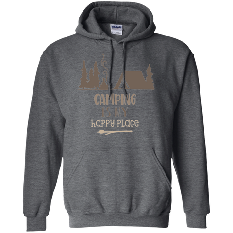 Camping is my Happy Place  Hoodie