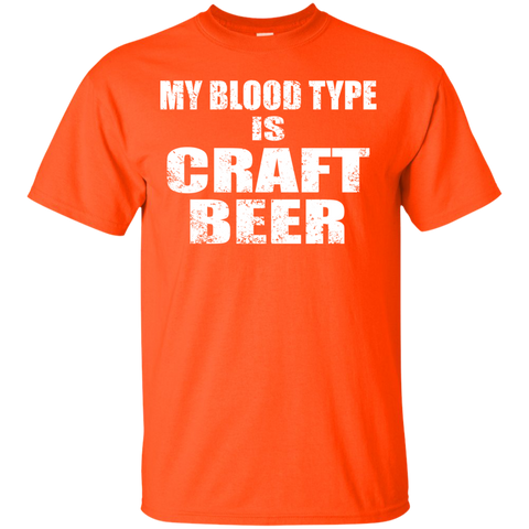 My Blood Type is Craft Beer Cotton T-Shirt