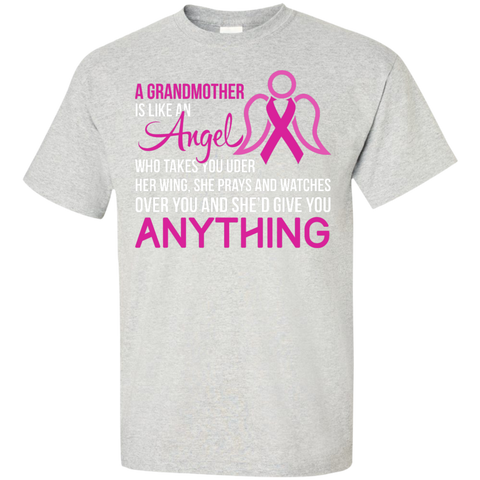A Grandmother is like an angel Cotton T-Shirt