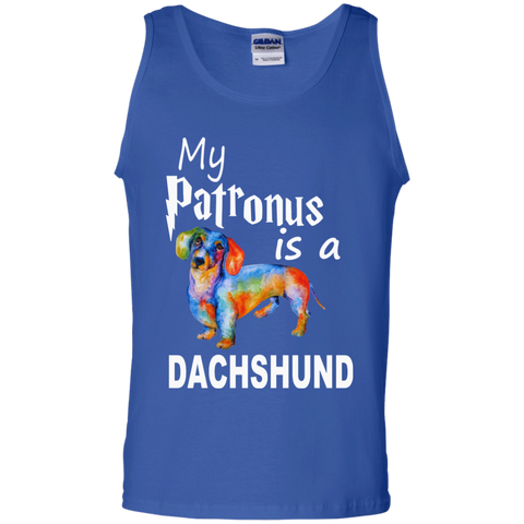 My Patronus is a Dachshund  Tank Top