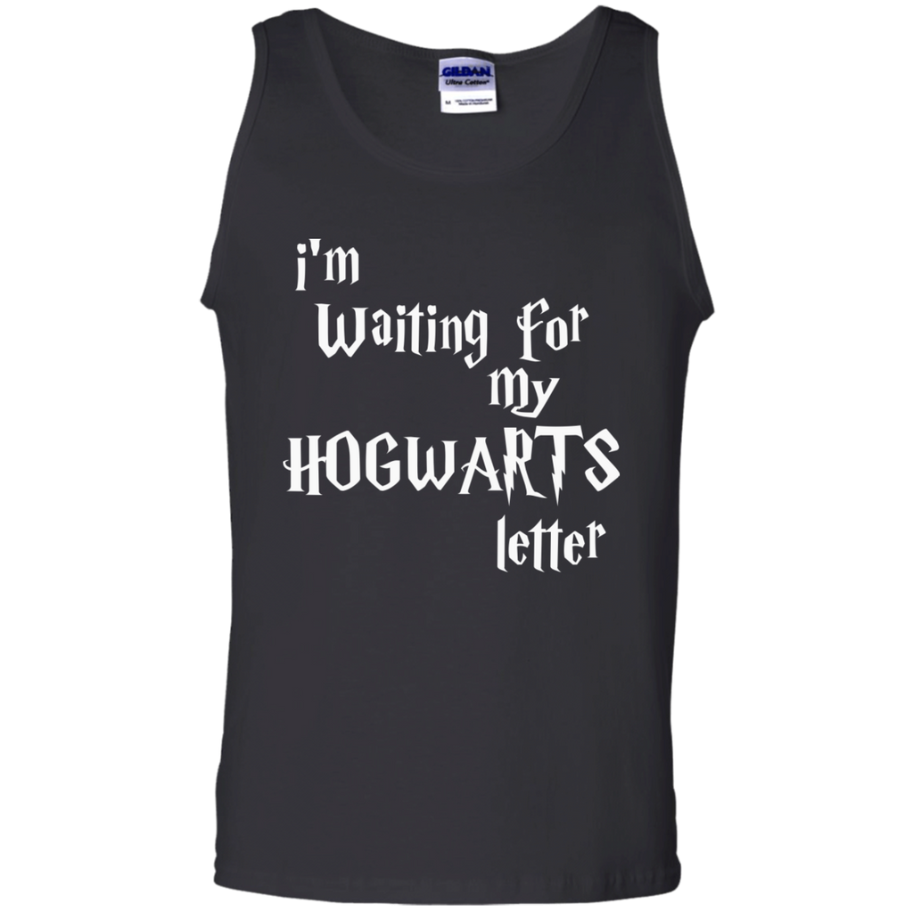 I'm waiting for my Hogwarts Letter  Cotton Tank Top