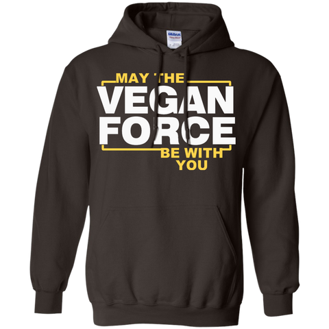 May The Vegan Force Be with You   Hoodie