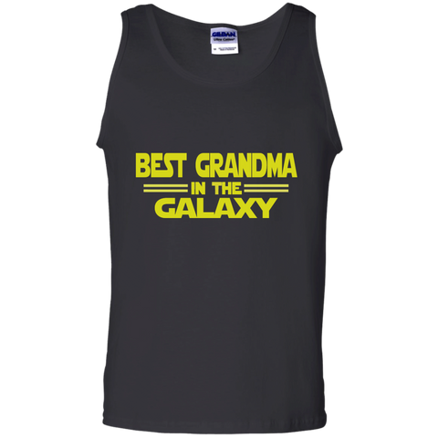Best Grandma in the Galaxy 100% Cotton Tank Top