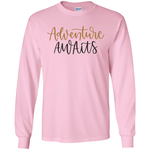 Adventure Awaits LS Tshirt