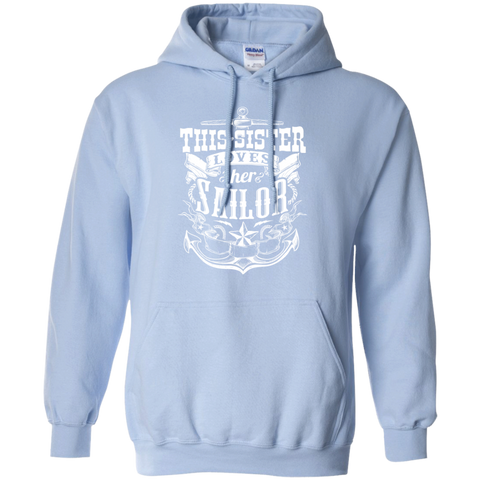 This Sister Loves Her Sailor Hoodie 8 oz