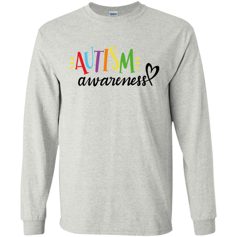 Autism awareness  LS Tshirt