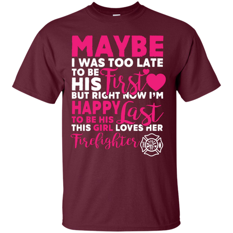 This Girl Loves her Firefighter Special T-Shirt