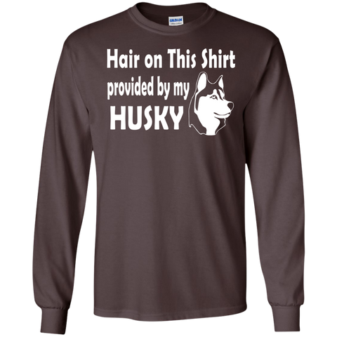 Hair on this shirt provided by my Husky  Ultra Cotton Tshirt