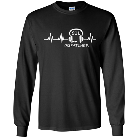 911 Dispatcher Heartbeat Ultra Cotton Tshirt