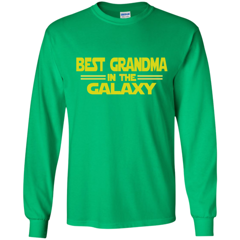 Best Grandma in the Galaxy LS Ultra Cotton Tshirt