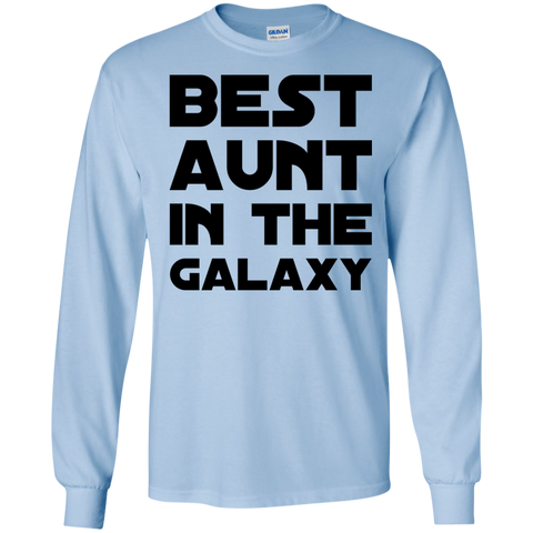 Best Aunt in the Galaxy  LS  Tshirt