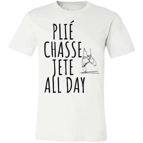 Ballet all day Unisex Jersey Short-Sleeve T-Shirt