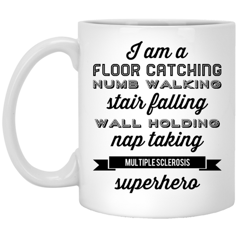 Multiple Sclerosis Superhero  Mug