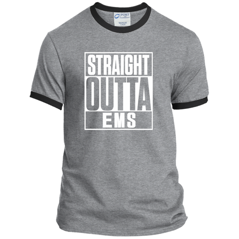Straight Outta EMS Ringer Tee