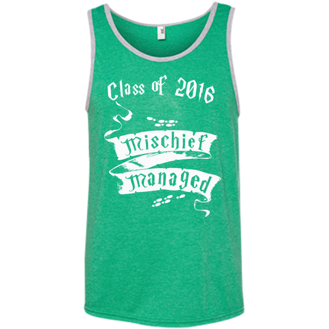 Mischief Managed Class of 2016 Ringspun Cotton Tank Top