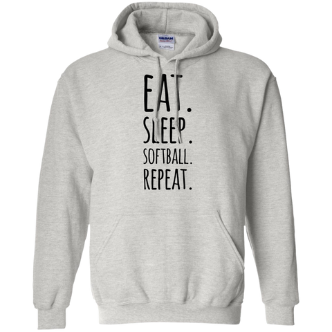 Eat  Sleep Softball affordable  Hoodie