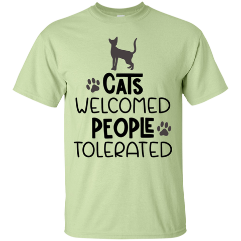 Cats welcome people tolerated   T-Shirt