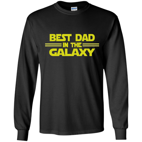 Best Dad in the Galaxy LS Ultra Cotton Tshirt