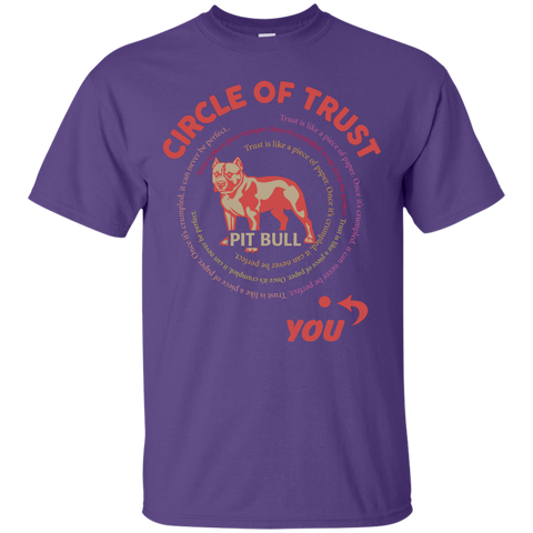 Circle of trust Pit Bull  T-Shirt