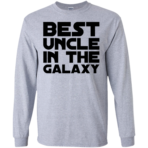 Best Uncle in the Galaxy  LS Tshirt