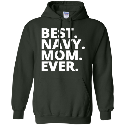 Best Navy Mom ever  Hoodie