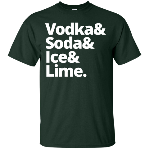 Vodka & Soda & Ice & Lime T-Shirt