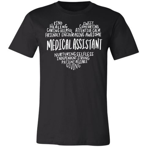 Medical assistant heart saying  T-Shirt