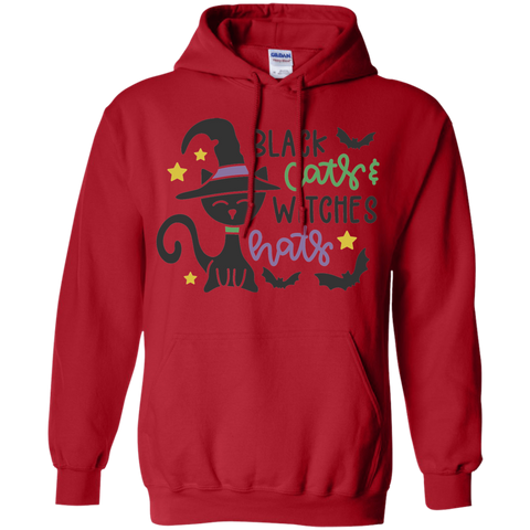Black Cats & Witches Hats Hoodie