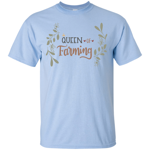 Queen of Farming Tshirt