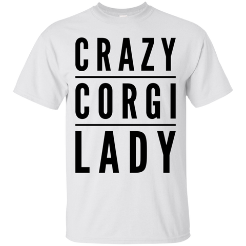 Crazy Corgi Lady  T-Shirt