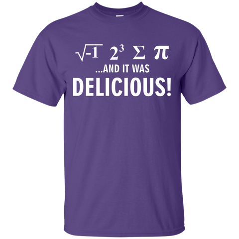 √-1 2^3 ∑ π and it was delicious!   T-Shirt