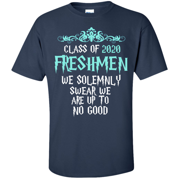 Class of 2020 freshmen we solemnly swear we are up to no for Pitbull mom af shirt