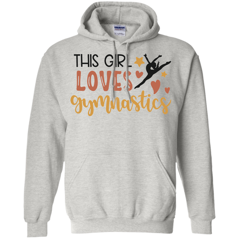 This Girl loves gymnastics Hoodie