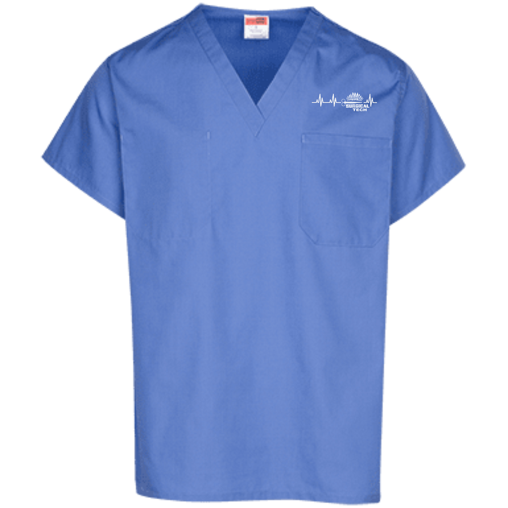 Surgical Heartbeat   Scrub Top
