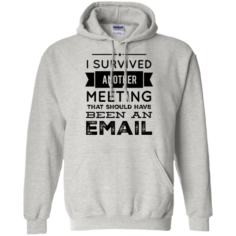I Survived another meeting that should have been an email  Hoodie