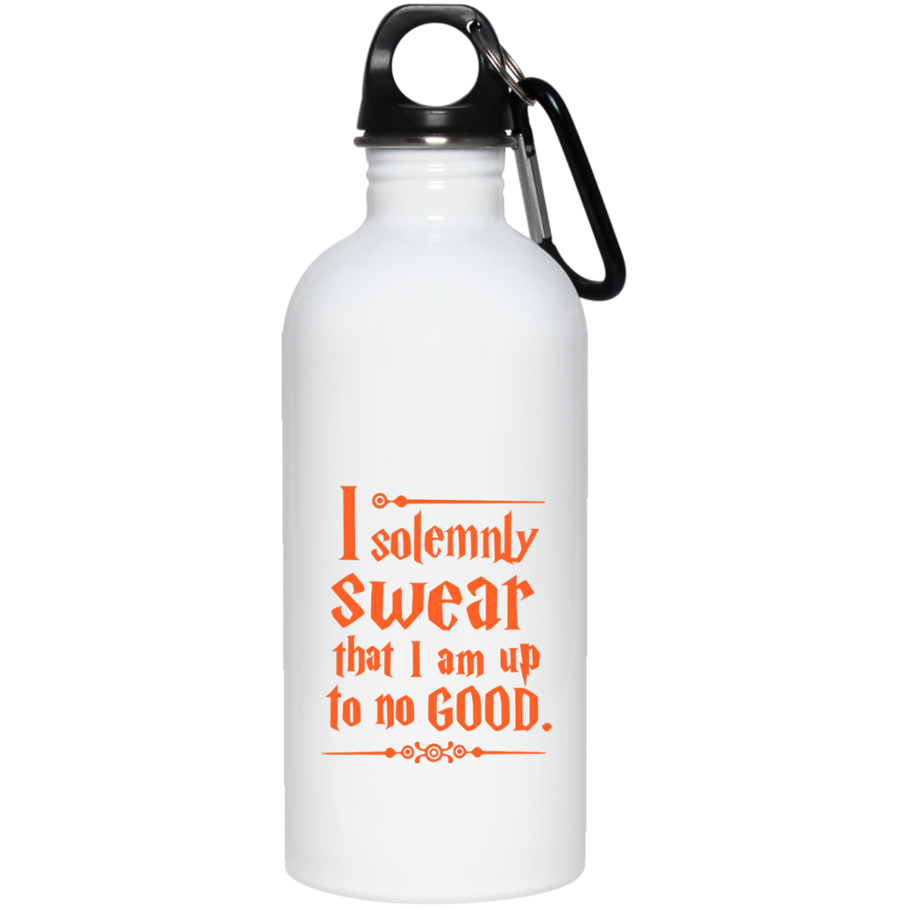 I Solemnly Swear that I am up to no Good  20 oz Stainless Steel Water Bottle