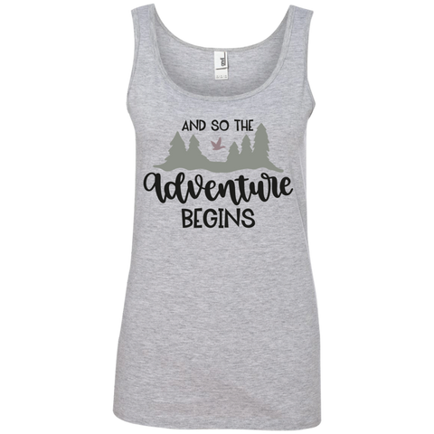 And So the adventure begins Tank Top
