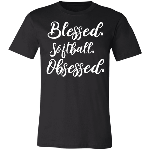 Blessed softball obsessed  T-Shirt