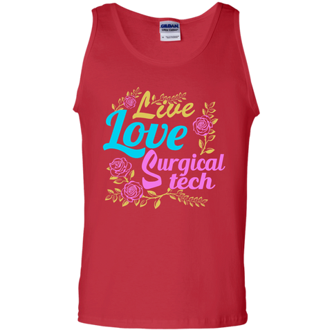 Live Love Surgical Tech 100% Cotton Tank Top