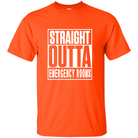 Straight Outta Emergency Rooms Cotton T-Shirt