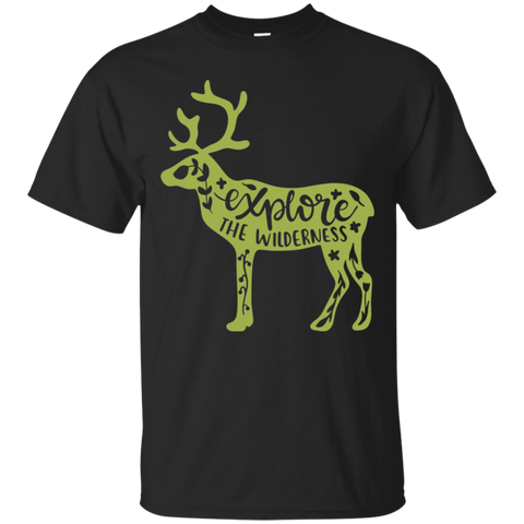 EXPLORE THE WILDERNESS  T-Shirt