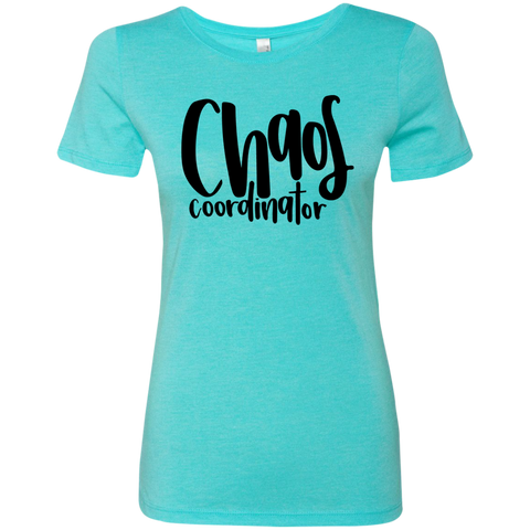 Chaos Coordinator   Ladies' Triblend T-Shirt