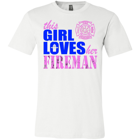 This Girl Loves her Fireman  T-Shirt